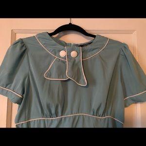 Blue hell bunny vixen dress